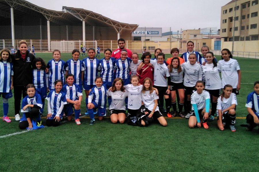 El equipo de interescuelas Femenino disputa un amistoso en Tarancón