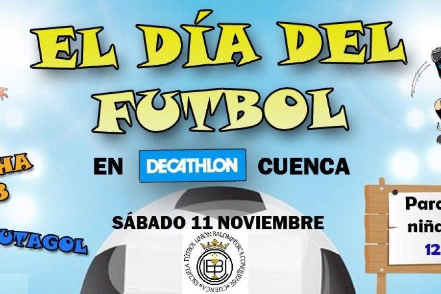 """""""El día del Futbol en Decathlón"""""""