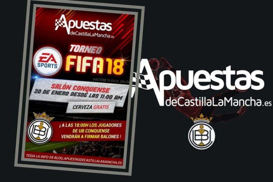 """Torneo """"FIFA 18"""" el 20 de Enero en el Salón Conquense"""