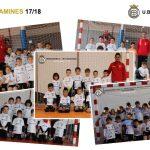 Equipos y niños de la Escuela de Futbol 2017/18 – Iniciación prebenjamín