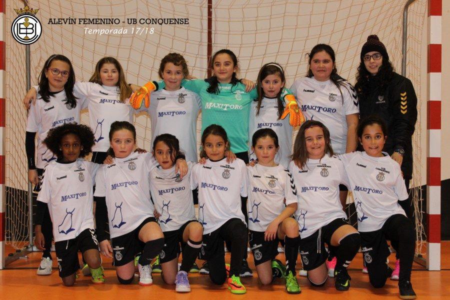 Los equipos alevín e infantil femeninos clasificados para la fase regional