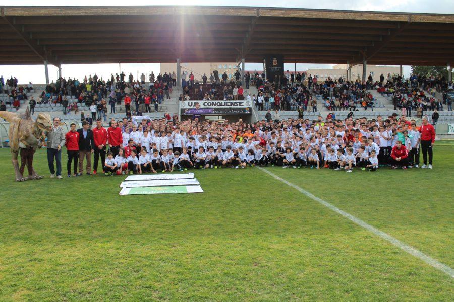 Presentación Oficial de las Escuela de Ftutbol de la UB Conquense