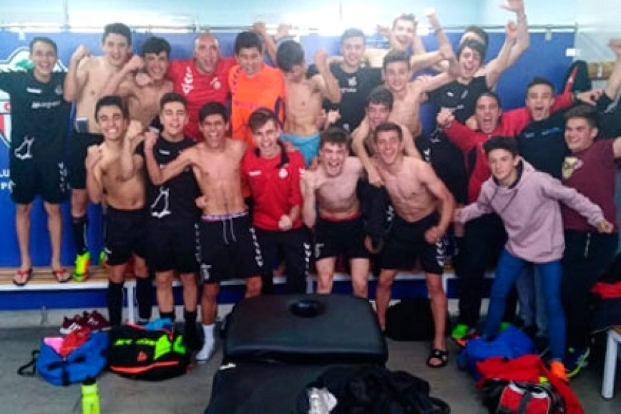 Nuestro equipo Cadete A, a un paso del ascenso a la Liga Regional