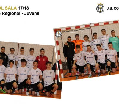 Equipos y chicos de la Escuela de Fútbol 2017/18 – Fútbol Sala