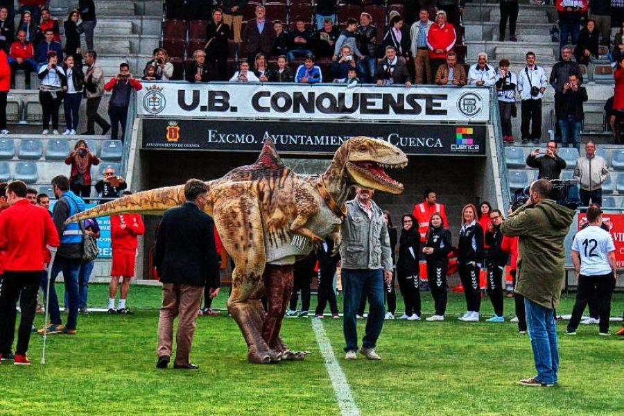 """""""Pepito"""" será Socio de Honor y ya es la Mascota de la U.B. Conquense"""
