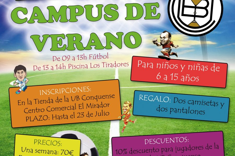 Campus de Verano de Fútbol 2018