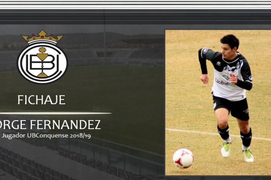 """Jorge Fernández, """"Jorgito"""" nuevo jugador de la U.B.Conquense"""