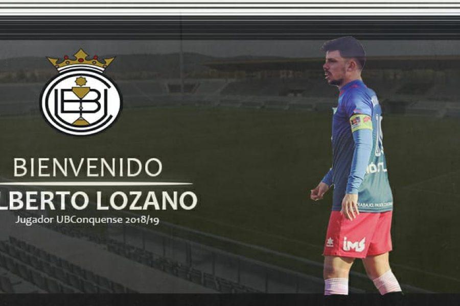 Alberto Lozano nuevo fichaje para la 18/19