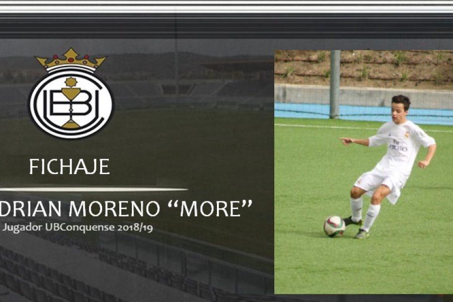 """""""More"""" es nuevo futbolista de la Balompédica Conquense"""