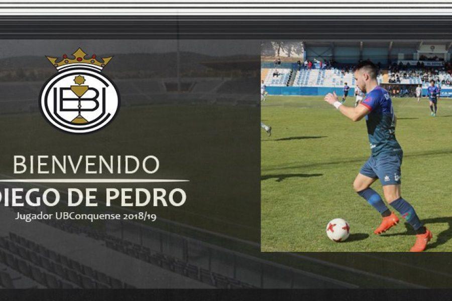 Diego De Pedro ya es jugador blanquinegro