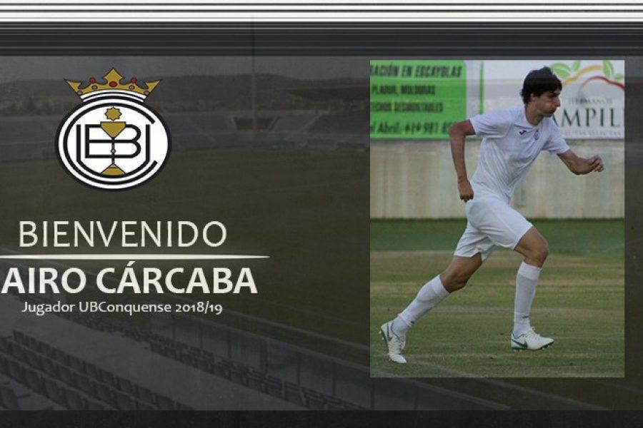 Jairo Cárcaba nuevo delantero de la Balompédica Conquense