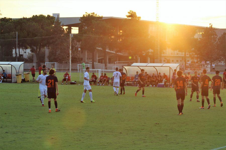 La Balompédica cae derrotada en el minuto 90 con el Valencia Mestalla