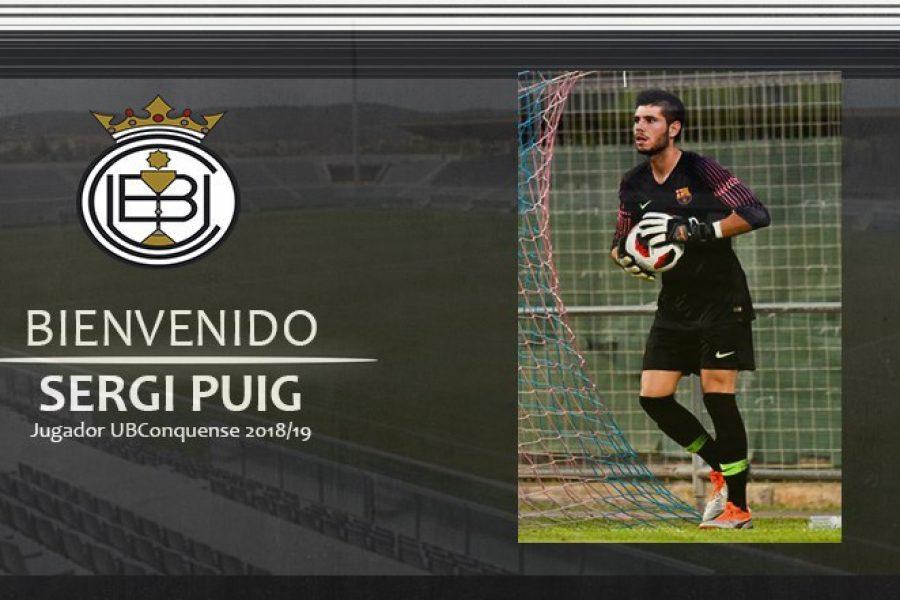 Sergi Puig llega cedido por el Barça B