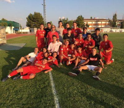 El U.B. Conquense Juvenil se alza con el trofeo Fiestas de Tarancón