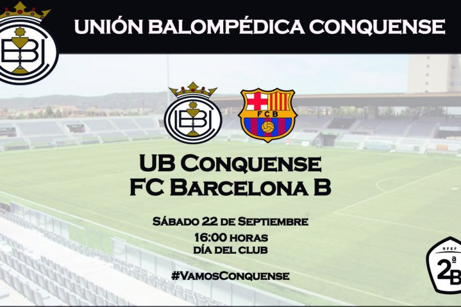Entradas anticipadas para el partido con Barcelona B ya a la venta.