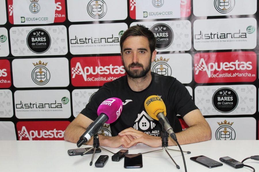 """Iván Rubio: """"Es un partido de cuatro puntos donde ganar va a ser muy importante"""""""
