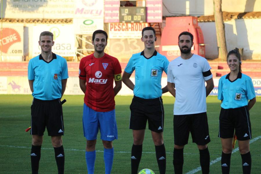 El Conquense logra ventaja (1-2) en La Roda gracias a un gol de Héctor Rubio en el añadido
