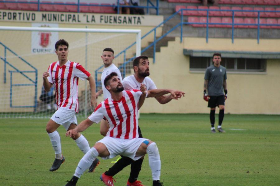 El Conquense empata a 2 ante un guerrero Atlético Ibañes