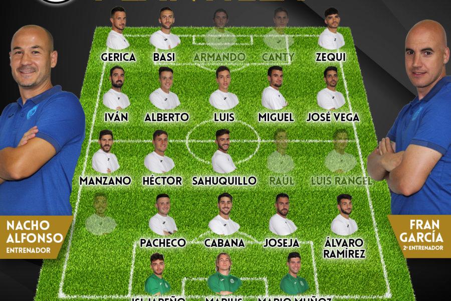 Lista de convocados para recibir a La Roda CF