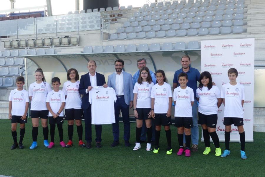 Incarlopsa apoyará el trabajo de promoción que hace el Conquense con su fútbol base