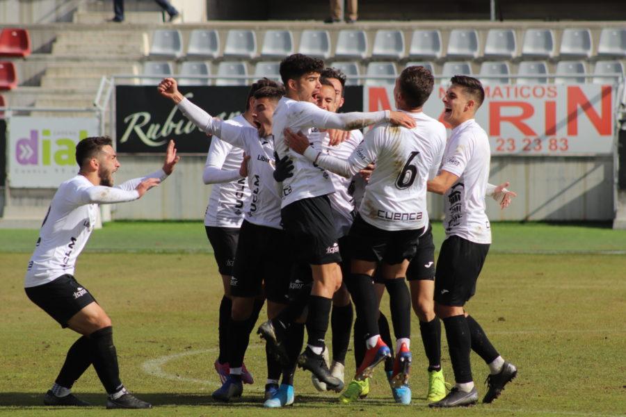 El Conquense suma los tres puntos ante el Depor Guadalajara con un gol de Basi
