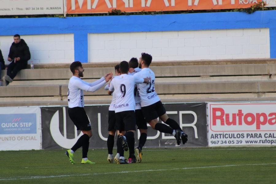 El Conquense vence 0-1 en Almansa con un gol de Basi