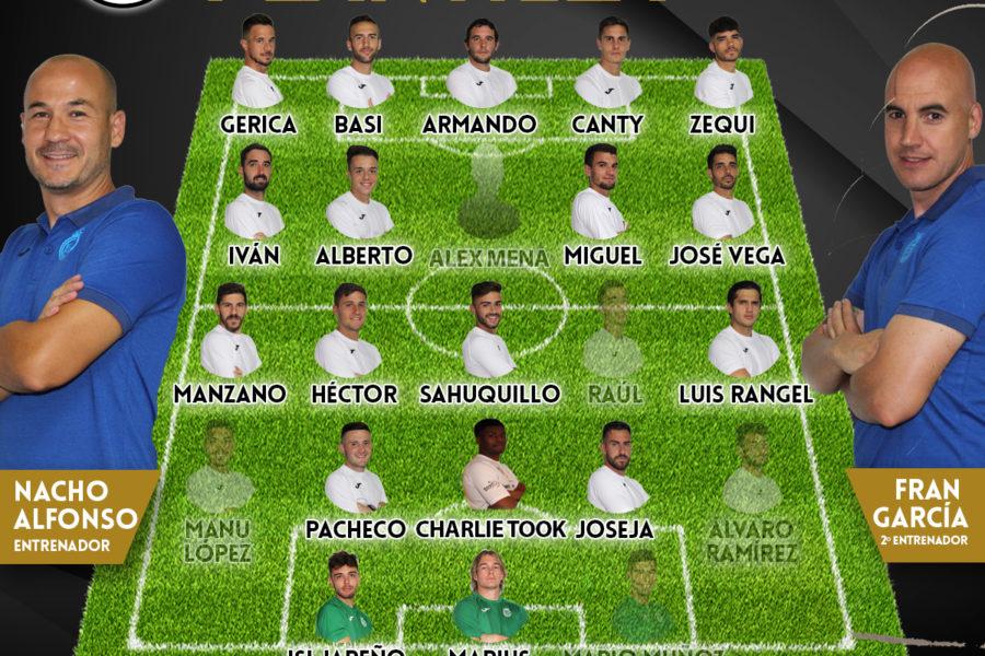 Lista de convocados para visitar al Atlético Ibañes