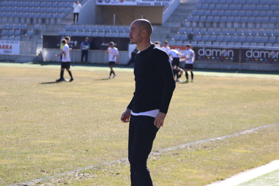"""Nacho Alfonso: """"los chicos han hecho un partido muy bueno"""""""
