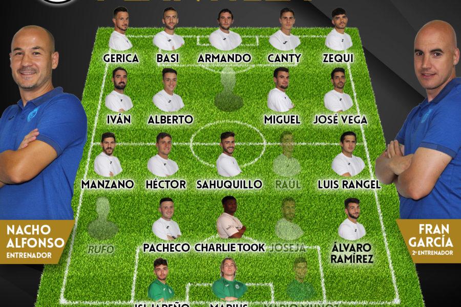 Lista de convocados para visitar a La Roda CF