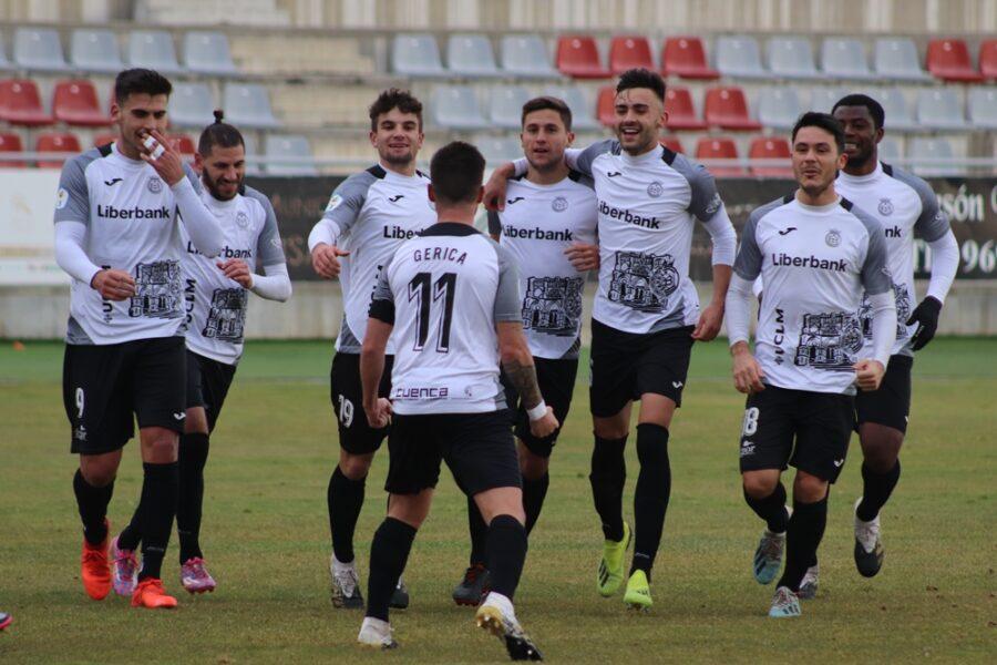 La Balompédica se impone al CD Guadalajara con un gol de falta de Gerica