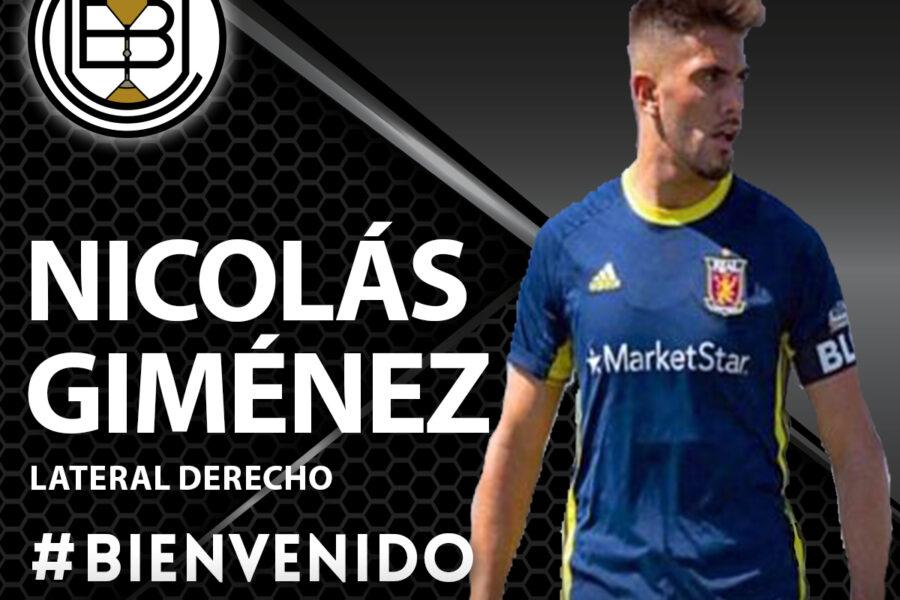 FICHAJE | Nicolás Giménez llega para reforzar el lateral derecho